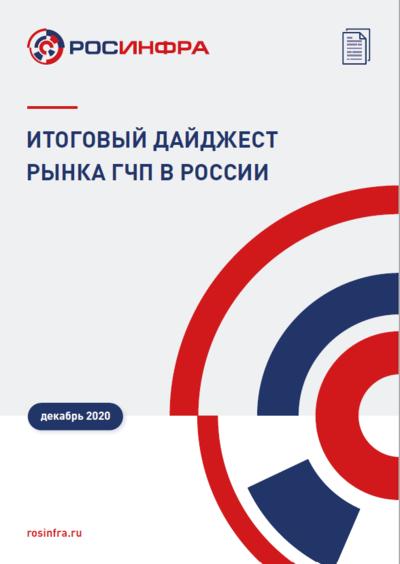 Итоговый дайджест рынка ГЧП в России. Декабрь 2020