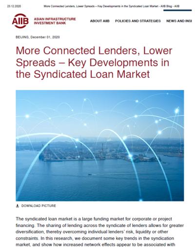 Ключевые изменения на рынке синдицированного кредита