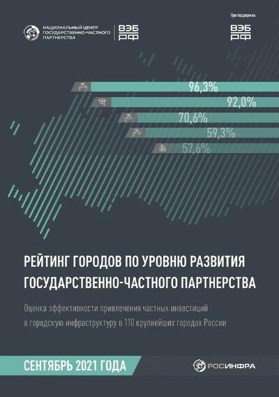 Рейтинг городов по уровню развития ГЧП (сентябрь 2021 года)