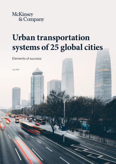 Системы общественного транспорта в 25 городах мира