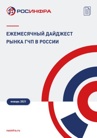 Ежемесячный дайджест рынка ГЧП в России. Январь 2021