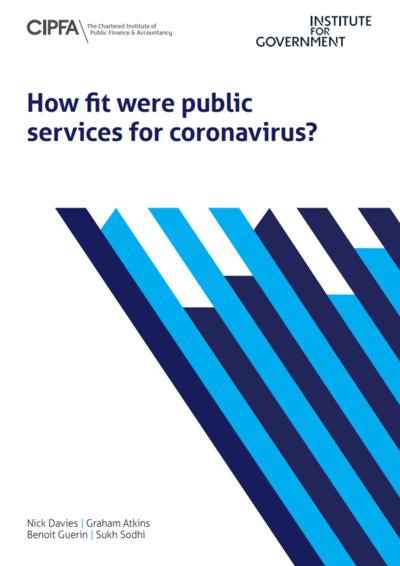 Устойчивость общественных услуг Великобритании к пандемии коронавируса