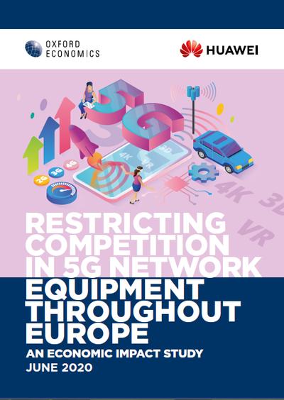 Ограничение конкуренции при развертывании сетей 5G в Европе. Экономическое исследование