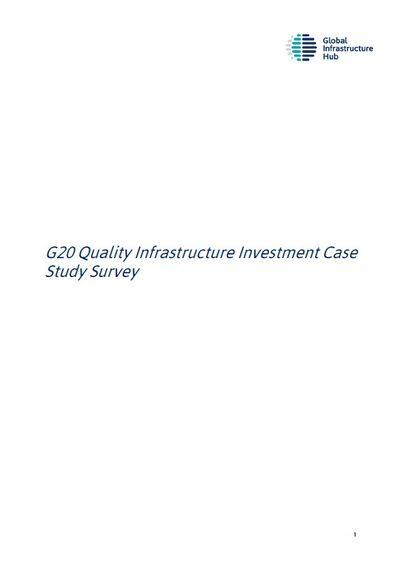 Проекты по Принципам качественных инфраструктурных инвестиций в странах G20
