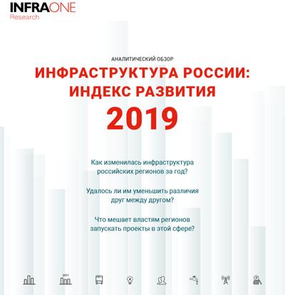 Инфраструктура России: индекс развития 2019. Аналитический обзор