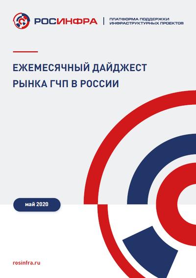 Ежемесячный дайджест рынка ГЧП в России. Апрель 2020