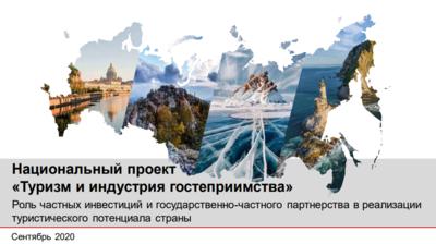 Национальный проект «Туризм и индустрия гостеприимства»