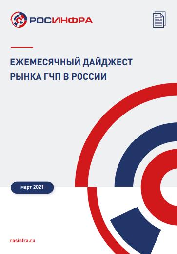 Ежемесячный дайджест рынка ГЧП в России. Март 2021