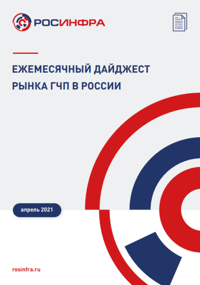 Ежемесячный дайджест рынка ГЧП в России. Апрель 2021